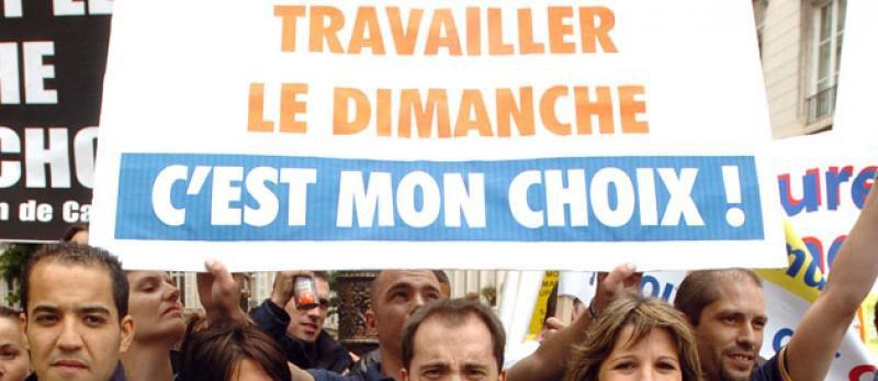 loi Macron - travaillons le week-end pour développer notre entreprise